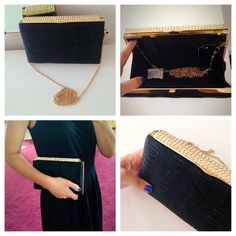 ❗ONLY ONE❗ Square evening Crystal Clutch Bag Gorgeous! Also comes with a longer chain strap as can be seen in the photos. Definitely an amazing piece to hold all your necessities Bags Clutches & Wristlets