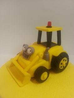 """Studio """"FONDANT DESIGN ANA"""" - Figurice za torte (fondant figures): MAJSTOR BOB&SKUP (BOB THE BUILDER&SCOOP)"""