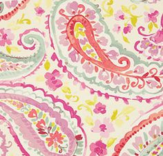 linen pattern: water color orchird