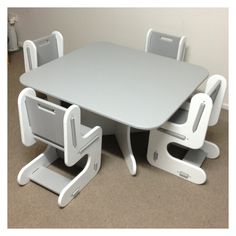 Kids table and chair set cubby house role play furniture Gold Coast Sydney Melbourne Adelaide Brisbane - Freight Australia Wide