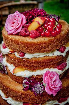 naked cake bruidstaart fruit