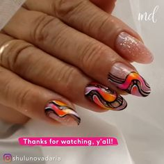 Grab your mani tools! We're trying a new design! By @shulunovadaria Glitter Nail Art, Nail Arts, Nail Designs, Nail Art Tips, Nail Design, Nail Art, Bling Nail Art, Fingernail Designs
