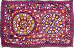 Vintage handmade suzani from Surkhandarya / Uzbekistan 112 on Etsy, $85.00