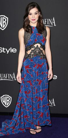 Look of the Day - January 12, 2015 - Hailee Steinfeld in Stella McCartney from #InStyle