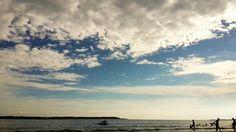 Sigue Observando...  #clouds #azul #nubes #blue #atardecer #mar #cartagena