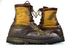 Vintage Danner Goretex & Leather Tall Mountaineering  #menswear #boots #fallfashion Hiking Work Boots 8.5 mens.  These hikers are in good vintage condition. Just normal wear