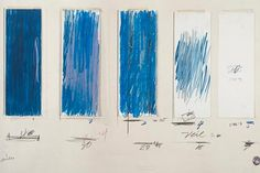 Cy Twombly Untitled (1970) Crayon, pencil, colored pencil, and ink on cut, torn, and folded papers with tapes on paper The Menil Collection, Houston, Gift of the artist © Cy Twombly Foundation