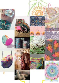 GLEE: Make it fancy and express it! An urge for eccentricity blows through this theme by mixing all different cultures together and breaking the established rules by combining infinite amounts of prints. Colors are acidic and enlivened by exotic touches. Fabrics are elaborated in a vintage spirit: fancy yarn voiles, summer tweeds, crochets. All kinds of fancy weave techniques are used: big basket weaves, cut yarns, checks and stripes awakened by acid colors and colored slubbed yarns…