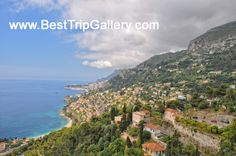 French Riviera landscapes