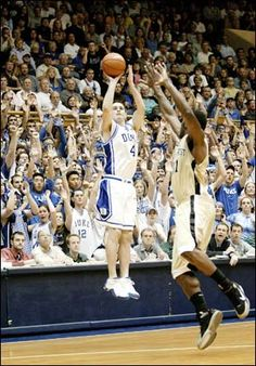 J.J. Redick ..... If only I could play like him :)
