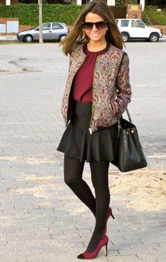Fashion and Style Blog / Blog de Moda . Post: Formal but Casual / Arreglada pero Informal See more/ Más fotos en : http://www.ohmylooks.com/?p=5195 by Silvia García Blanco