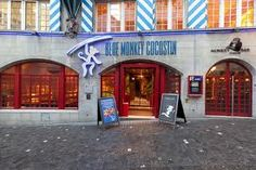 Blue Monkey Zürich , Thai Monkey, Foodies, Restaurants, Blue, Diners, Playsuit, Monkeys, Restaurant, At Sign