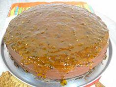 Faça passo a passo a receita de Torta de maracujá com chocolate que não tem como errar porque é bem simples e fácil! Tenho certeza que vai ser sucesso! Tor