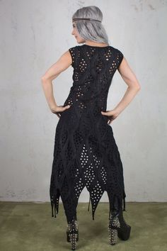 Dark Mori Goth Dress as Goth Women Clothing and Sexy Dress Fetish Wear for Pagan Sith Cosplay Steampunk black Witch Dress Sith, Cyberpunk, Pixie Outfit, Steampunk, Dystopian Fashion, Witch Dress, Goth Women, Cosplay, Dress Images
