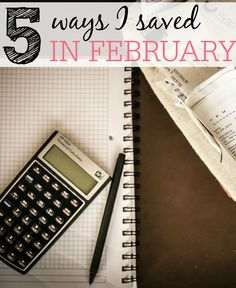 I love looking back over the month and seeing the ways I saved. Check out the 5 ways I saved in February.