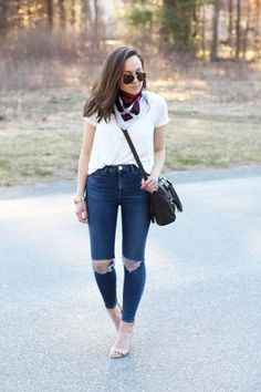 #ootd: silky scarf   little cup of j