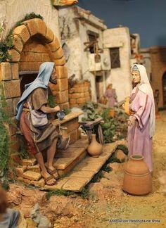 Jose Luis Lima -La Linea de la Concepcion- - BELENISTAS DE ROTA Asociacion - Álbumes web de Picasa Cribs, Nativity, Miniatures, Bible, Christmas, Painting, Ideas Para, Fictional Characters, Truck