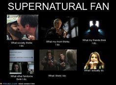 Supernatural Fan by Lia-in-Wonderland.deviantart.com on @deviantART. Accurate.