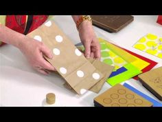 This video shows you how to dress up paper bags - perfect for gifting, lunch bags and snack bags!