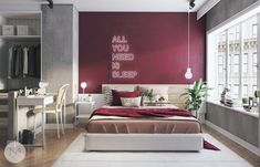 How+To+Use+Colors+To+Spice+Up+A+Concrete+Decor+Scheme:+3+Examples