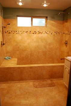 small space tub | roman tub , We had a small stand up shower and a large jetted tub ...