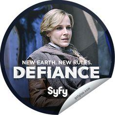 Steffie Doll's Defiance: Amanda Elected Mayor Sticker | GetGlue