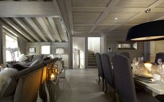 Chalet White Pearl in Val d'Isere sleeps up to 10 guests over 5 en-suite bedrooms. This is a stunning design led chalet with incredible spa facilities.
