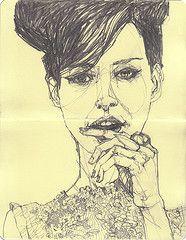 Deanna Staffo, Random Portrait of a Random Person