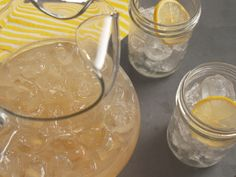 Honey-Ginger Lemonade Recipe : Nancy Fuller : Food Network - FoodNetwork.com