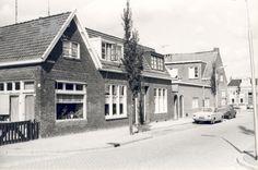 Sportlaan westzijde. Gezien vanaf hoek Buygersstraat naar de Huizumerlaan.