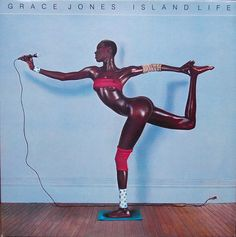 Dream: The rapper wants Kim to recreate Grace Jones' iconic pose on the cover of her 1985 ...
