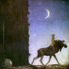 By John Bauer: