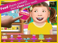 Workday Dentist ($0.99) Our latest series allows you to live the life of a dentist. Clean the patient's teeth, drill cavities, and put on braces. Even spray paint the patient's teeth! Feed the patient's junk food to add cavities and gunk!  Workday Dentist includes several great tools for treating your patients.
