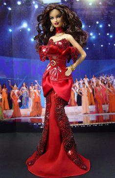 OOAK Barbie NiniMomo's Miss Honduras 2011