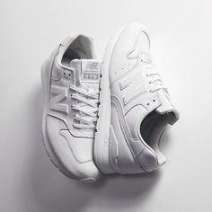 white on white New Balances…. I fucks with these!