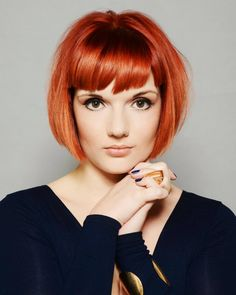 Stunning Copper Bob from Stephanie Byrne - Francesco Group, Lichfield