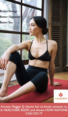 Love Maggie Q. Definitely need to try this supplement! Best Weight Loss, Weight Loss Tips, Lose Weight, Get Healthy, Healthy Tips, Fitness Goals, Fitness Motivation, Health And Wellness, Health Fitness