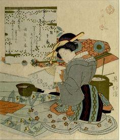 Totoya Hokkei Title:Surimono
