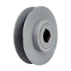 V-Belt Pulley, 1-1/8'VrPitch, 6.5'OD, Iron - 1 Each * Click image to review more details.