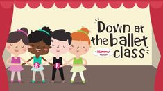 Ballet Class song for kids! - Education and lifestyle Ballet Songs, Ballet Music, Ballet Class, Toddler Dance, Toddler Ballet, Baby Ballet, Ballet Kids, Preschool Action Songs, Preschool Books