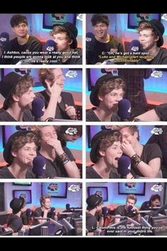 They're so dumb and that's why I love them<likes face tho OMG his laugh (^O^)