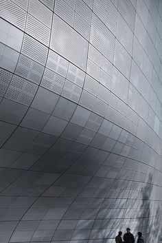 Dongdaemun Design Plaza - Architecture - Zaha Hadid Architects via  TWWHLSPLS.More archi here.