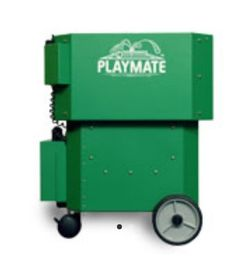 Battery-powered tennis ball machine from Playmate tennis Metal Company, Machine Service, Tennis Accessories, Tennis Clubs