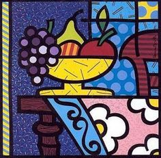 Modern Paintings Paintings and Drawings: Modern paintings by Romero Britto for BODEGONES kitchens – bestvalentinesdaygifts. Graffiti Art, Pintura Graffiti, Graffiti Painting, Famous Pop Art, Famous Artists, Cubism Art, Zombie Art, Absolut Vodka, Country Art