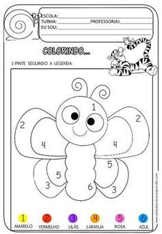A Arte de Ensinar e Aprender: Atividades prontas - Colorindo...