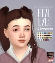 TS4 | Real Eyes Heterochromia | DangerouslyFreeJellyfishCC The Sims 4 Skin, The Sims 4 Pc, Sims 4 Teen, Sims Four, Sims 4 Toddler, Sims 4 Mm, Los Sims 4 Mods, Sims 4 Game Mods, Sims 4 Mods Clothes