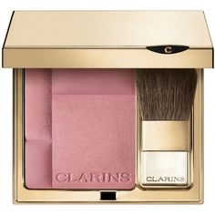 Clarins Rouge Prodige Illuminating Cheek Color (415 ZAR) ❤ liked on Polyvore featuring beauty products, makeup, cheek makeup, blush, beauty, apparel & accessories, pink, mineral blush, clarins blush and pink blush