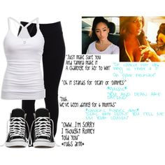 In Naomi's Lockeroom by raine-wwe on Polyvore featuring American Eagle Outfitters, Helmut Lang, Converse and Roberto Coin