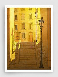 Morning Shine in Paris by tubidu on Etsy