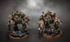 Those Nurgle Obliterators look so awesome.
